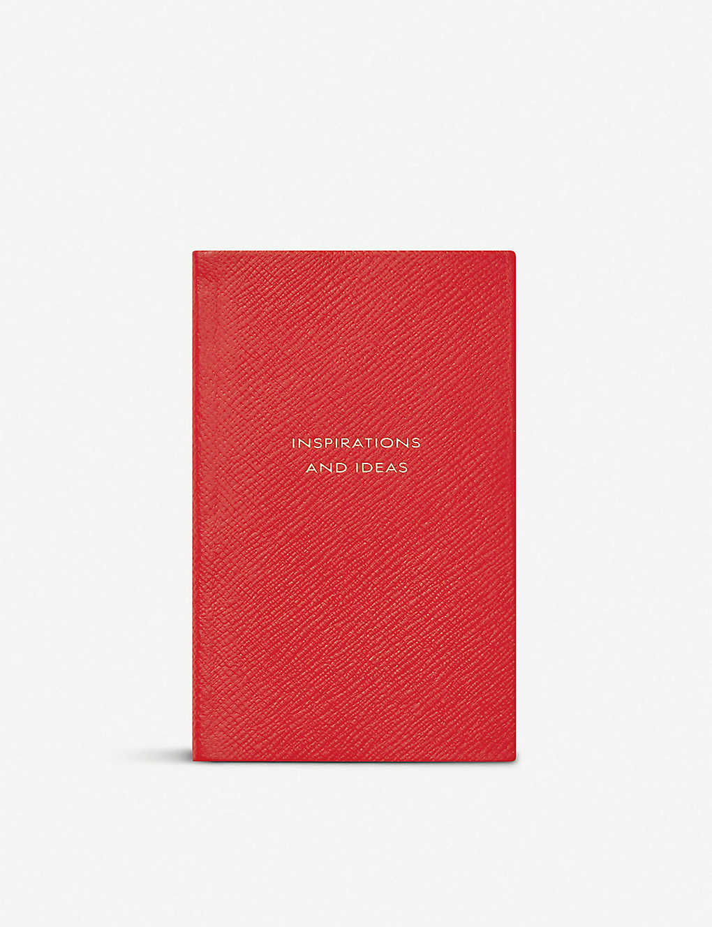 SMYTHSON: Inspirations and Ideas Panama leather notebook