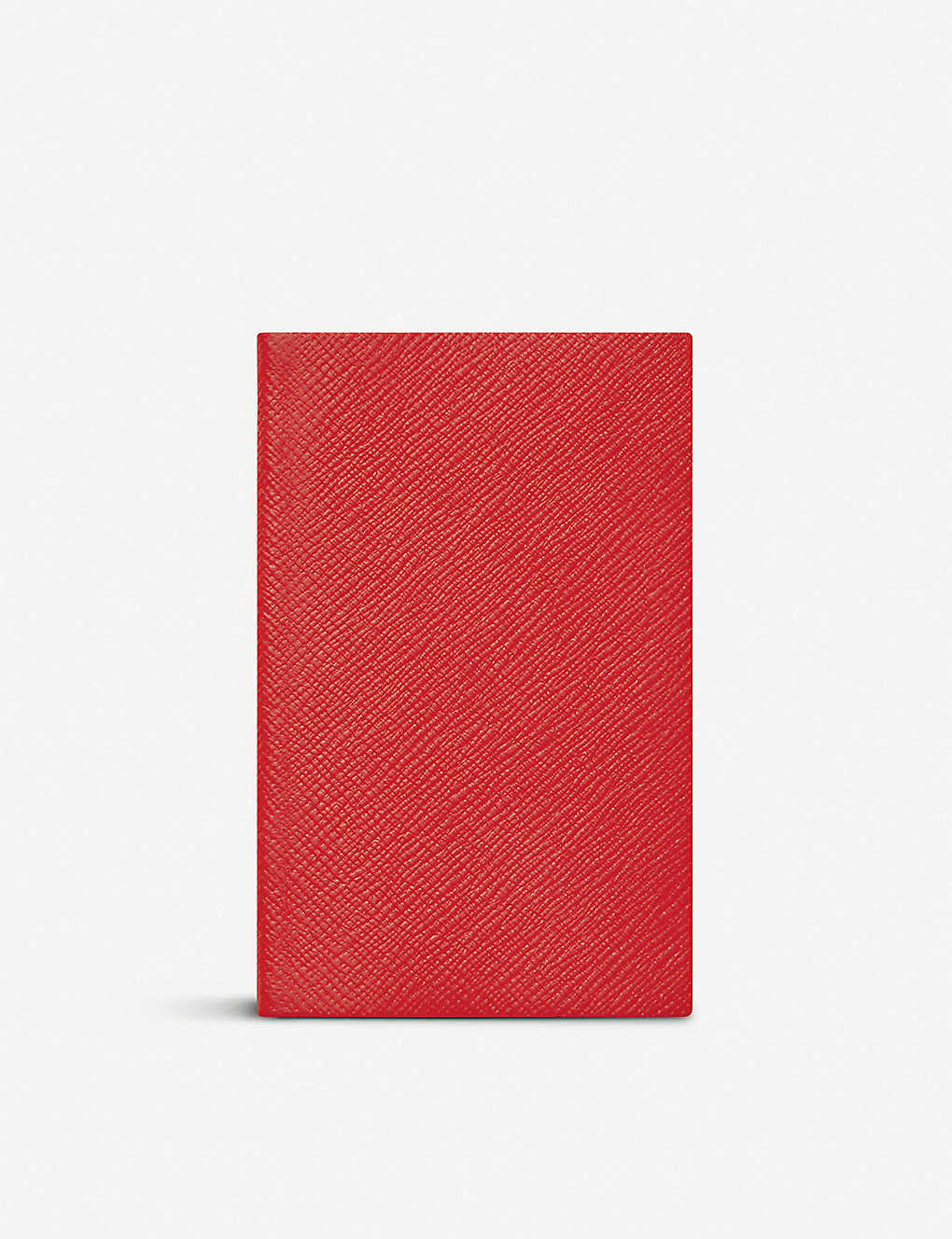 SMYTHSON: Panama leather notebook 14cm x 9cm