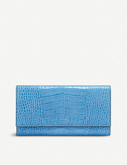 SMYTHSON Mara marshall travel wallet