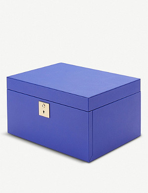 SMYTHSON Grosvenor three-tray jewellery box