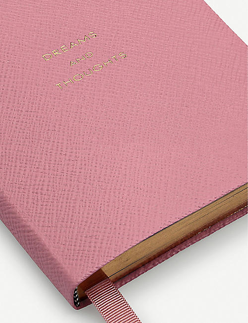 SMYTHSON Dreams and Thoughts Premier Leather notebook 13.5cm