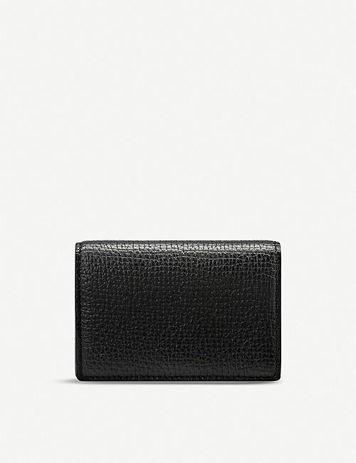 SMYTHSON: Burlington deerskin business and credit card case