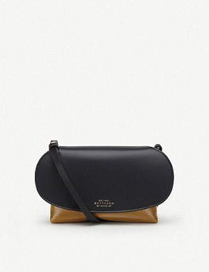SMYTHSON Mini Pillow leather crossbody bag