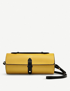 SMYTHSON Panama leather bike bag