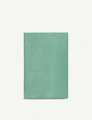 SMYTHSON Chelsea leather notebook