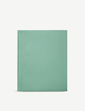 SMYTHSON Portobello leather notebook 21cm x 26cm