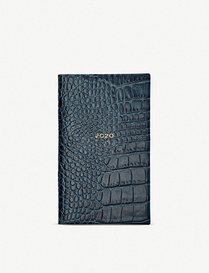 SMYTHSON Panama 2020 leather diary 14cm x 9cm