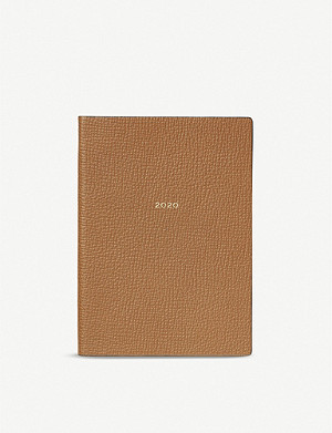 SMYTHSON Soho crossgrain leather 2020 diary 19cm x 14cm