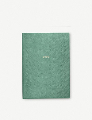 SMYTHSON 2020 Soho leather diary 19cm x 14cm