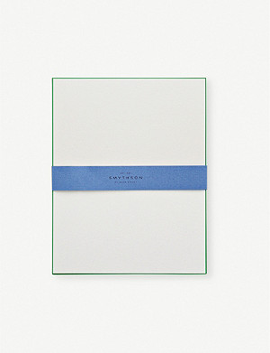SMYTHSON Bordered correspondence cards pack of 10