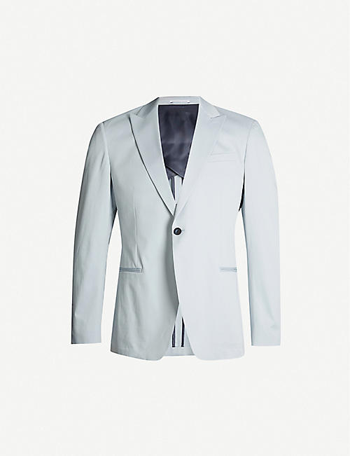 REISS Soul slim-fit stretch-cotton blazer