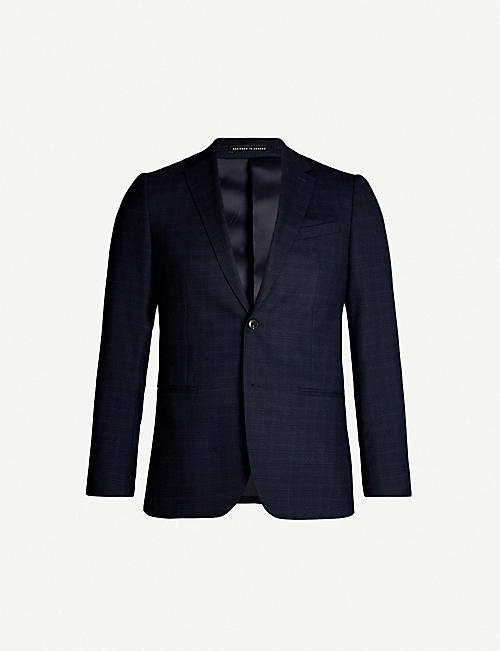 REISS Gritton slim-fit wool-blend blazer