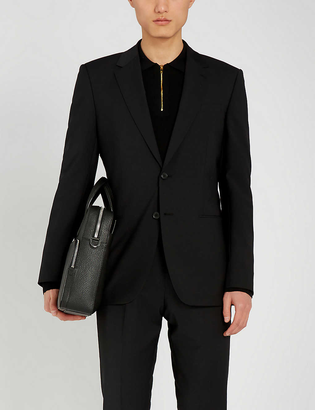 REISS: Hope slim-fit wool-blend blazer