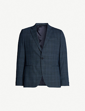 REISS Fresco single-breasted woven blazer