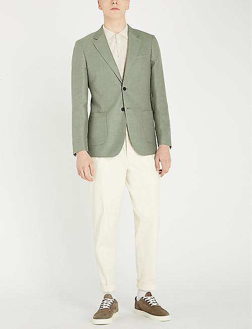 REISS Richie slim-fit single-breasted blazer