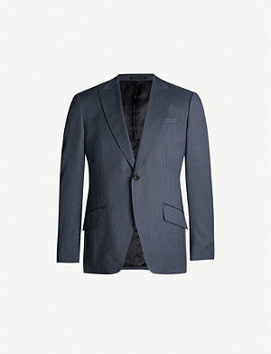REISS Shark regular-fit wool blazer