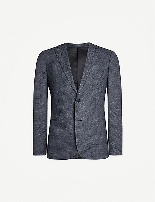 REISS Pavese single-breasted wool jacket