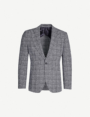 REISS Aston wool-blend blazer