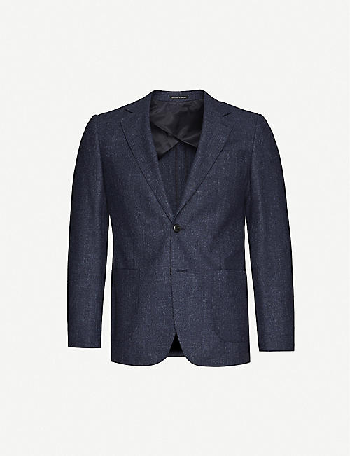 REISS Edition wool-blend blazer