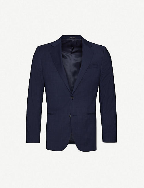 REISS Grit stretch-wool blazer