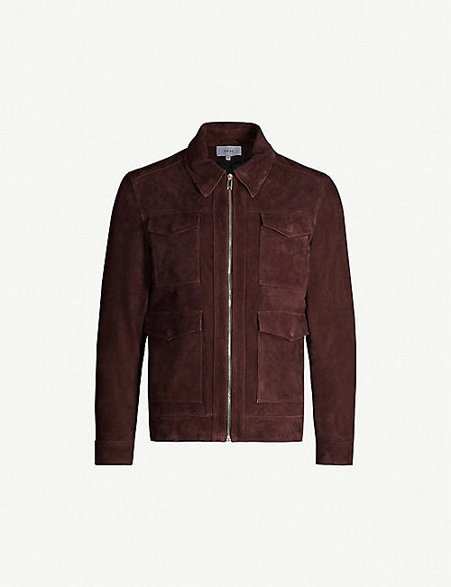 5991d4bc4fd Leather jackets - Coats   jackets - Clothing - Mens - Selfridges ...