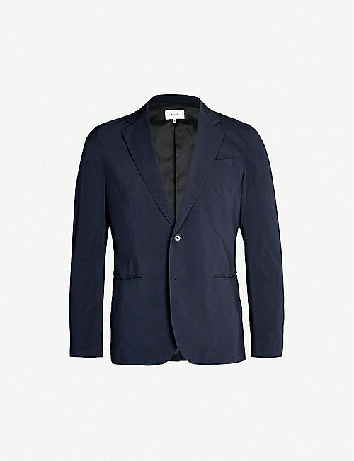 709b71da8451 REISS Unique slim-fit blazer