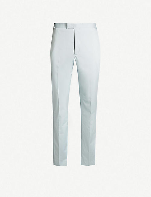 REISS Soul slim-fit cotton trousers