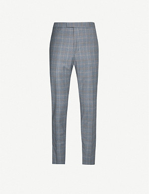 REISS Glover slim fit wool trousers