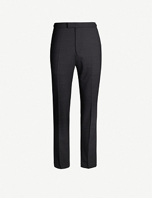 REISS Purdue slim-fit wool-blend trousers