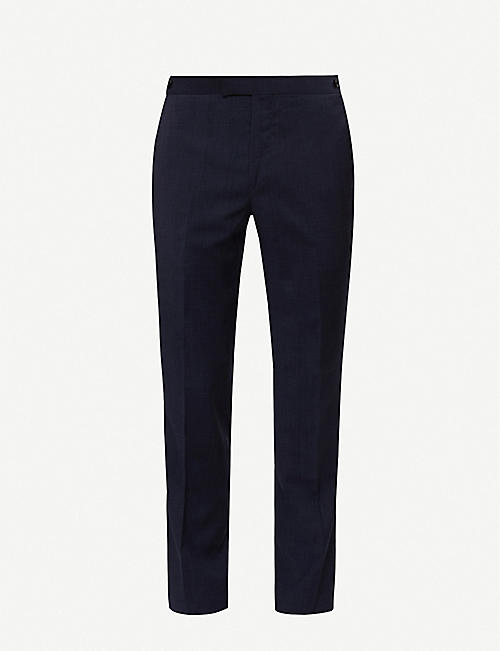 REISS Grit slim-fit stretch-wool suit trousers