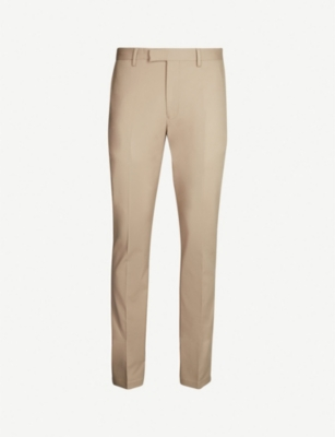 REISS Westbury slim fit cotton-blend chinos
