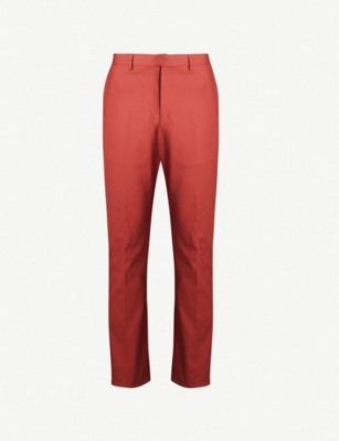 REISS Westford slim-fit stretch-cotton tapered chinos