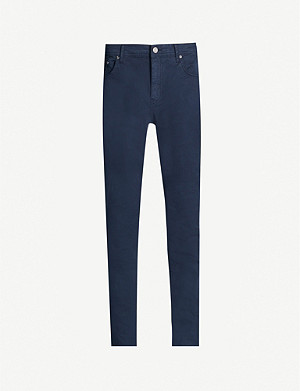 REISS Pistol slim-fit stretch-cotton trousers