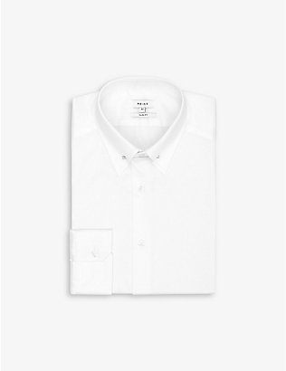 REISS: Caldwell slim-fit cotton shirt