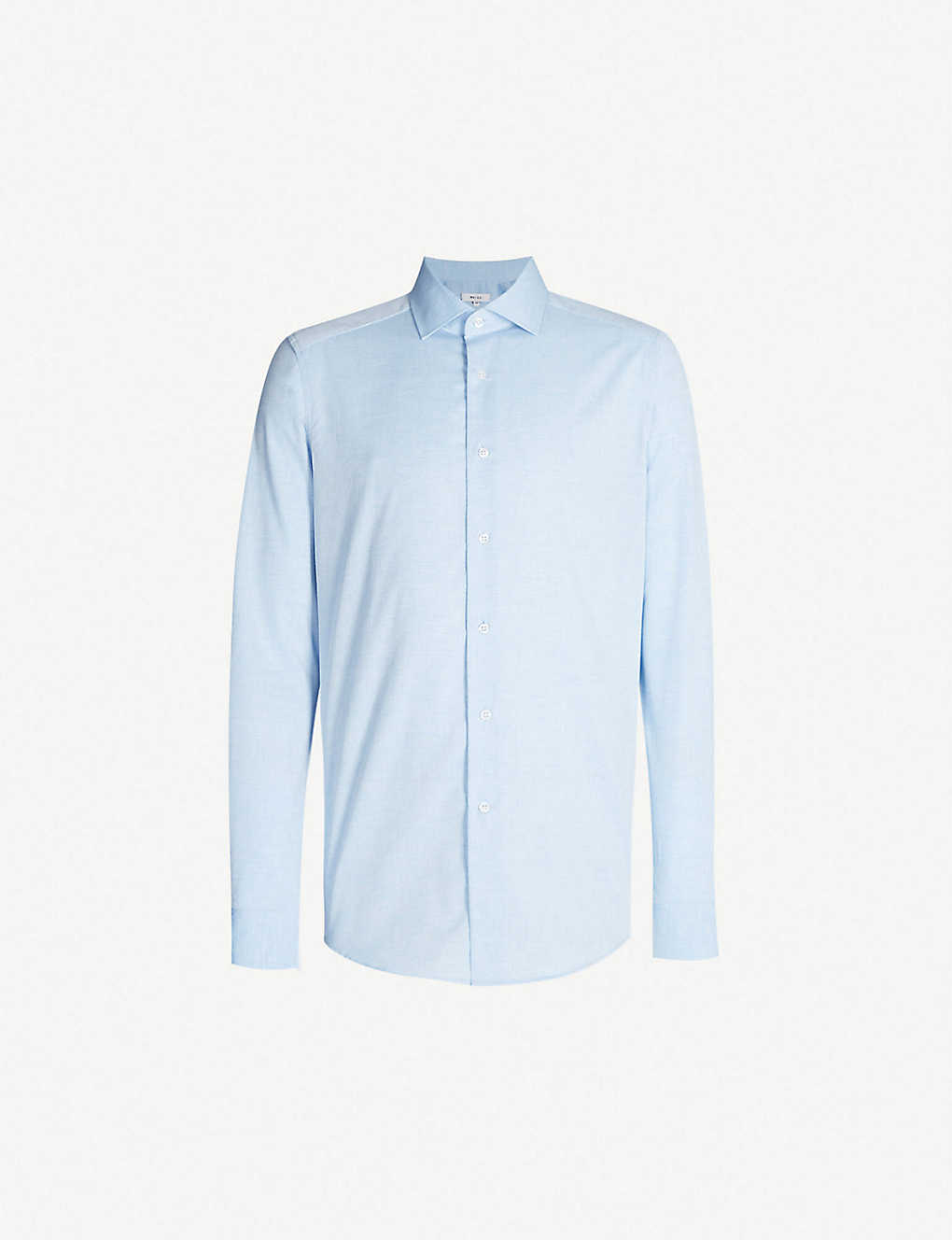 REISS: Irving slim-fit cotton shirt