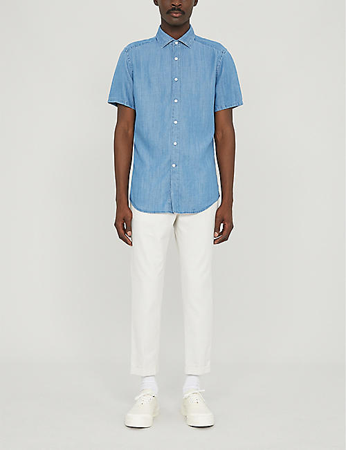 REISS Maccabee slim-fit woven shirt
