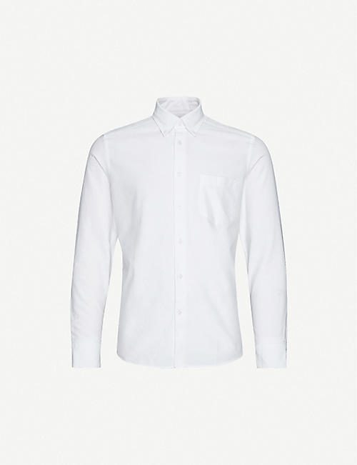 REISS: Greenwich slim-fit cotton Oxford shirt