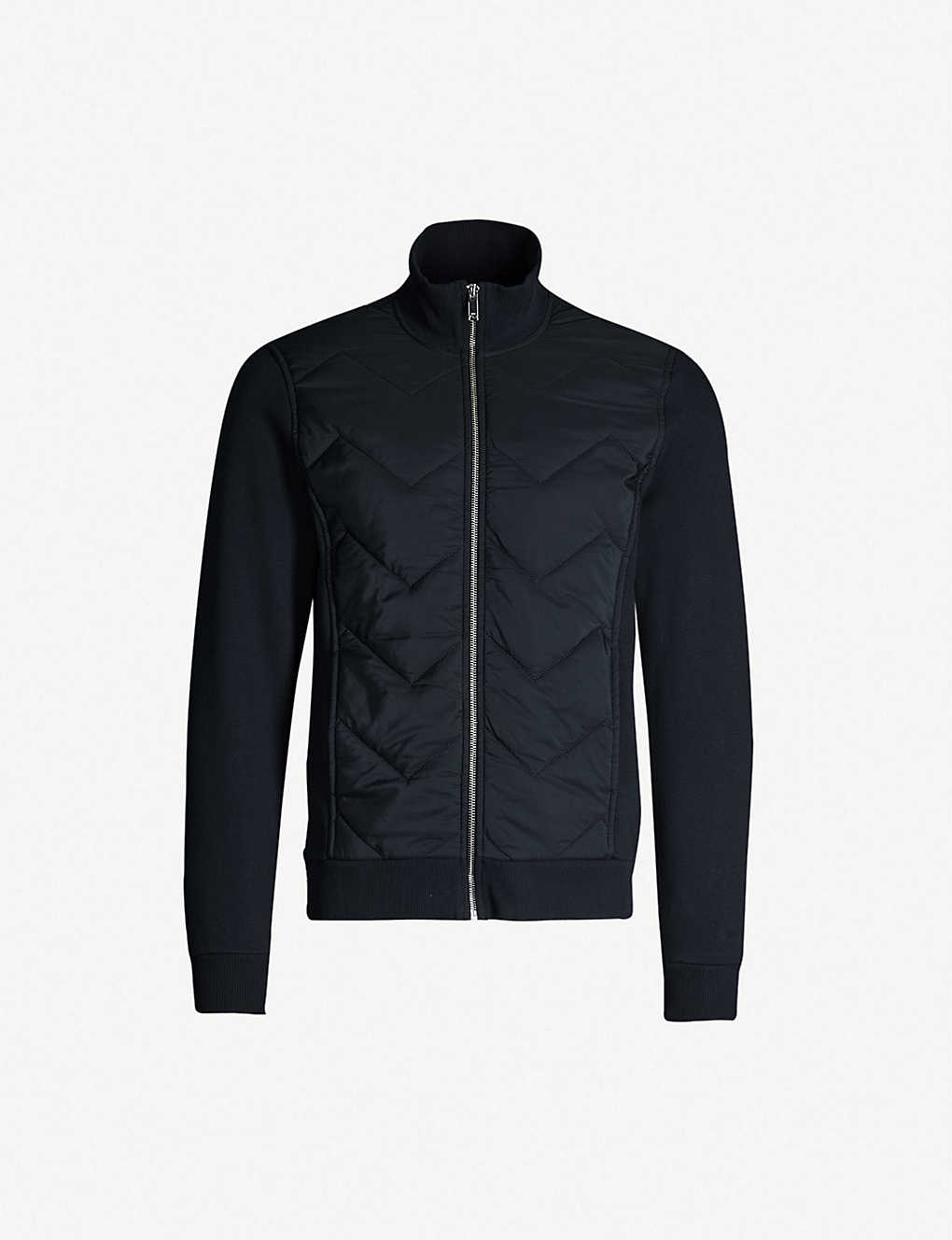 Alban stretch-cotton jersey and shell jacket