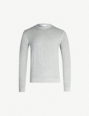 REISS Fred cotton-blend sweatshirt
