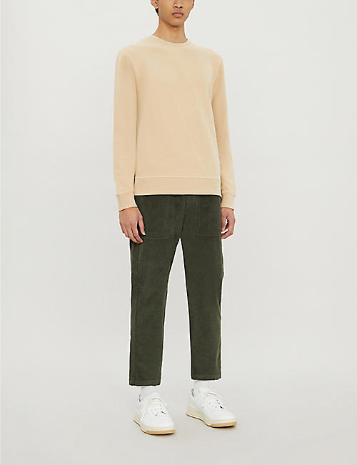 REISS Arthur cotton-jersey sweatshirt