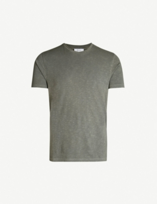 REISS Kenny cotton-jersey T-shirt