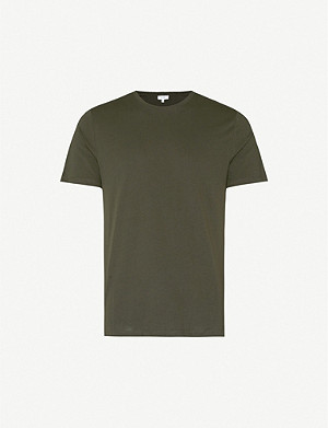 REISS Bless cotton-jersey T-shirt