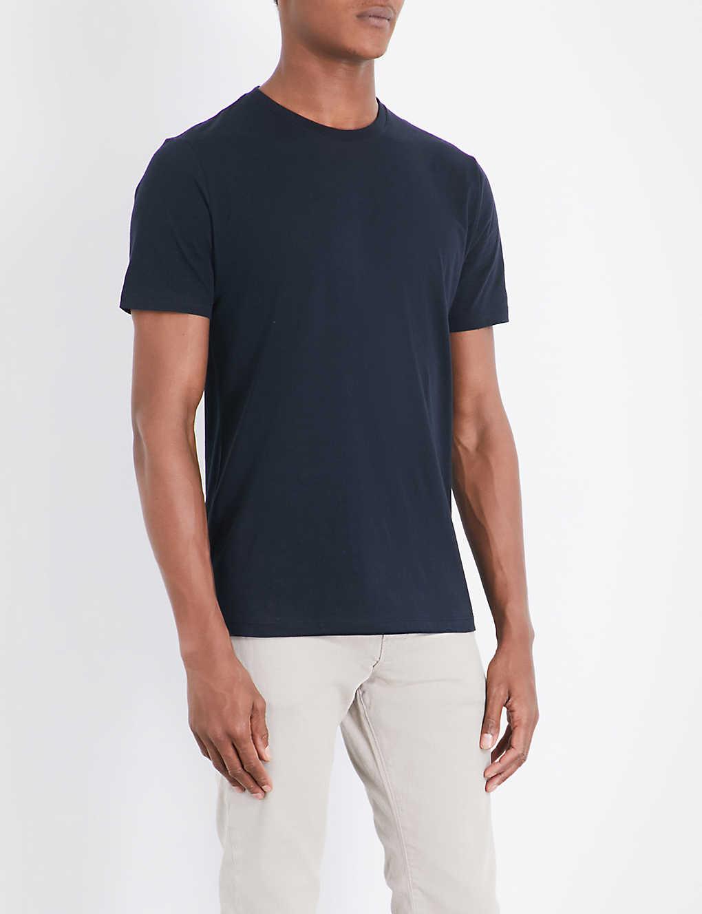 06b2be1ed5ba9c REISS - Bless cotton-jersey T-shirt | Selfridges.com