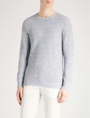 2316d5b2d REISS - Rocco cotton and linen-blend jumper | Selfridges.com