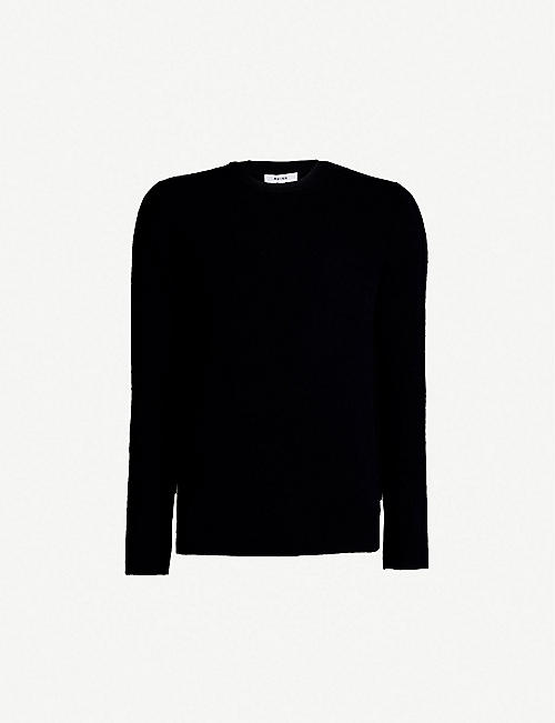 6095e1105ae REISS Bothwell wool and cashmere-blend jumper