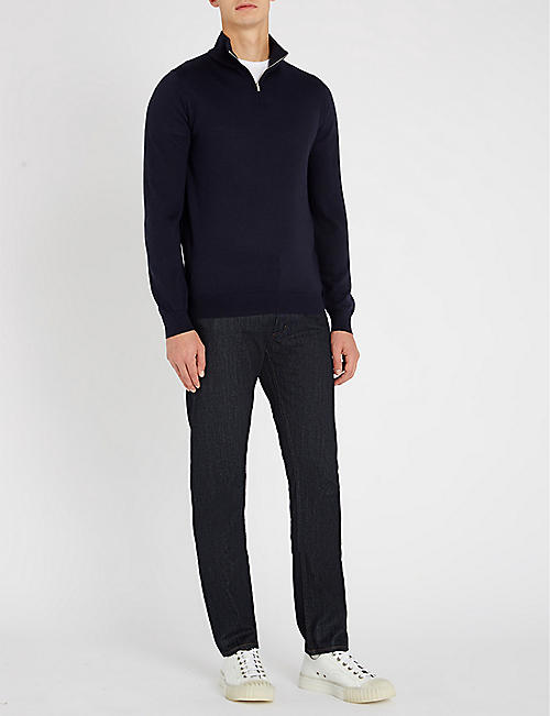 REISS Blackhall wool jumper