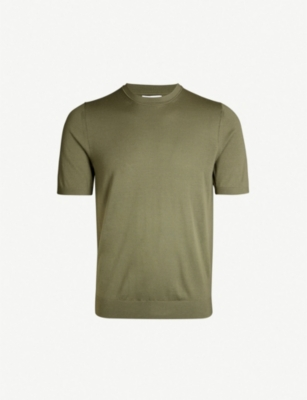 REISS Wiltshire Merino wool T-shirt