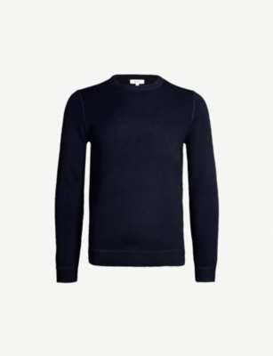 REISS Dakota stretch-knit jumper