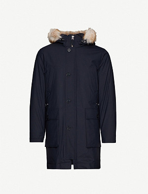 REISS Pacific shell coat