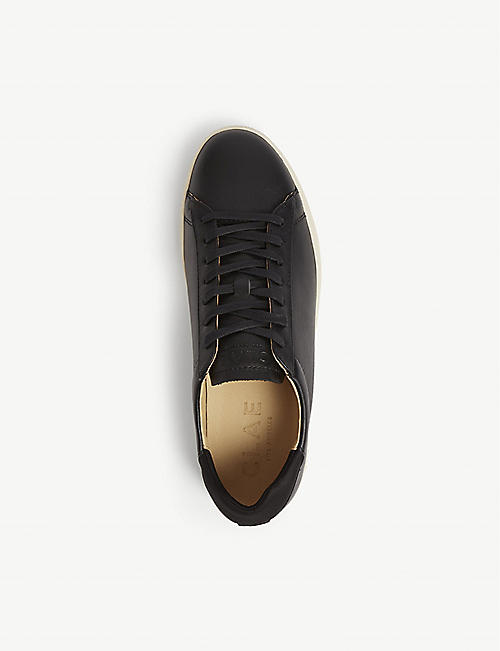 REISS Bradley Clae leather trainers